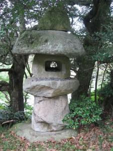 A Toro at Kiyosumi Garden, Tokyo